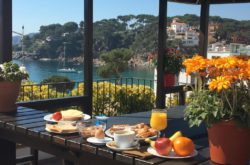 Hotel La Muntanya llafranch costa brava bookings Breakfast