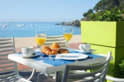 Hotel Llevant, Llafranch, Costa Brava bookings Breakfast