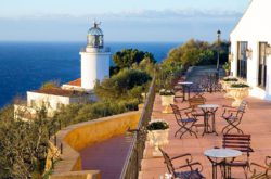 El Far Hotel Restaurant, llafranch, costa brava online bookings El far view